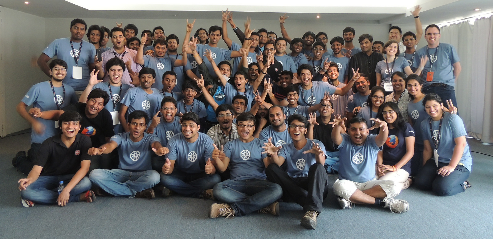 Mozilla India in Hyderabad, April 2014