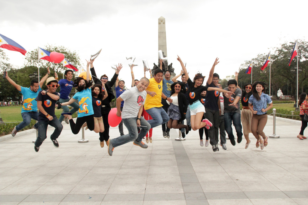 Jump! Mozilla Philippines Group Shot