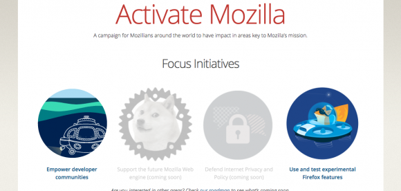 Activate Mozilla